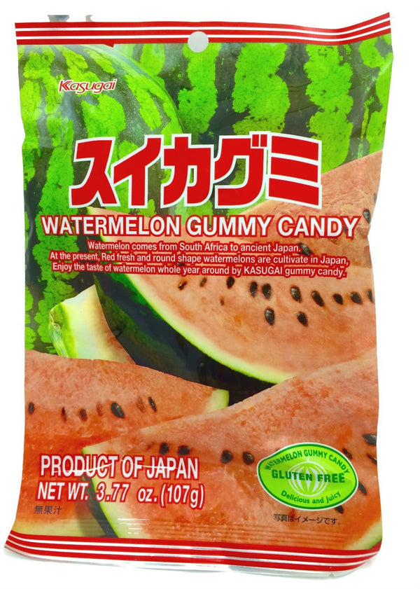 Kasugai Fruit Gummy Watermelon Flavor 3.77oz