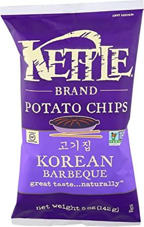 Kettle Chips Korean BBQ Flavor 5oz