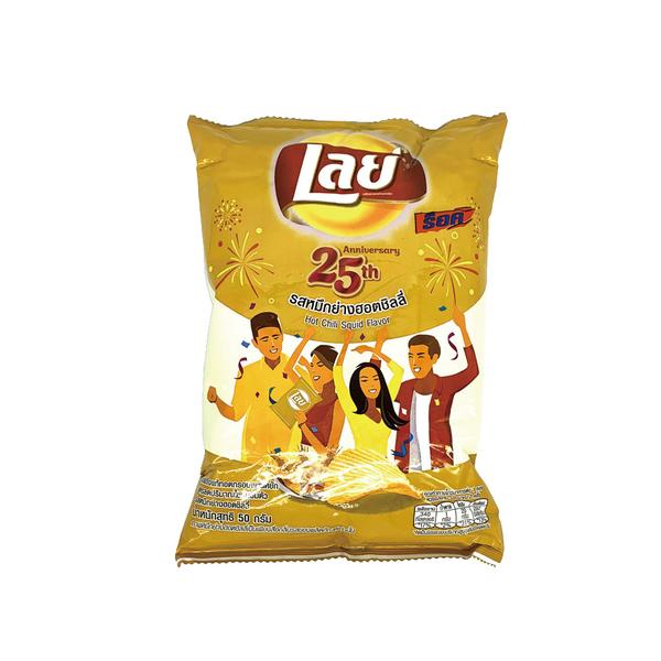 Lay's Spicy Chili Squid Chips 50g
