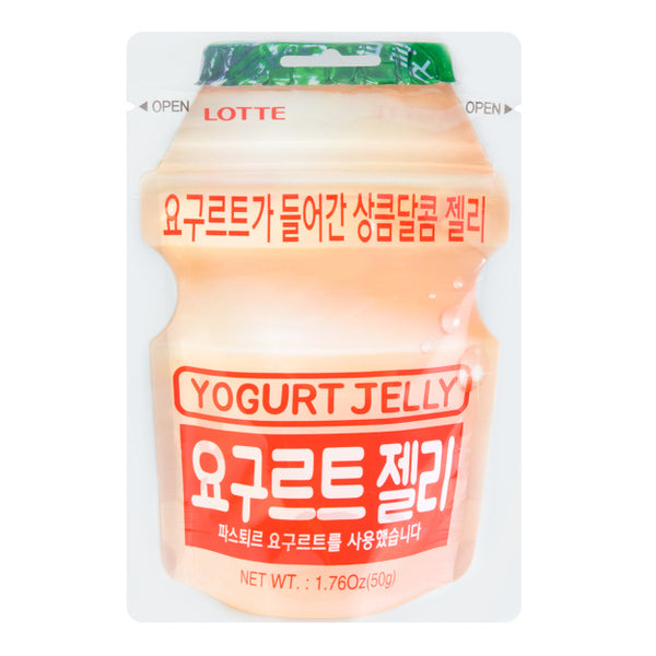 Lotte Yogurt Jelly Candy 1.76oz
