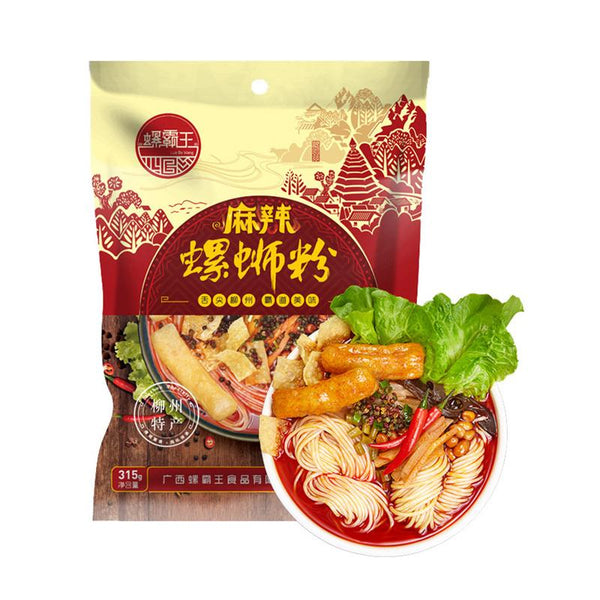Luo Ba Wang Spicy Luo Si Rice Noodles 11.11oz