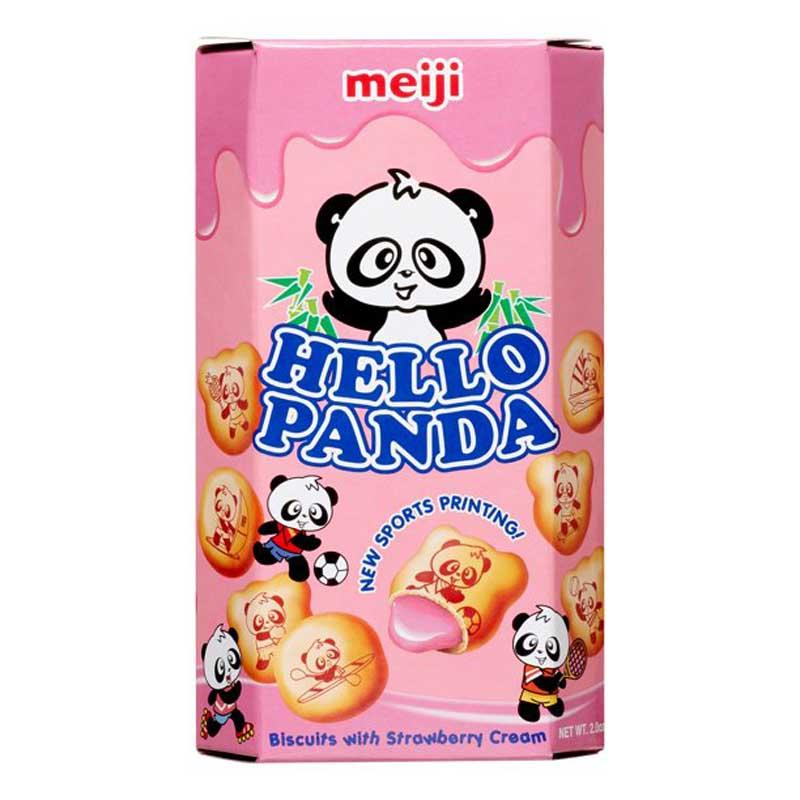 MEIJI HELLO PANDA STRAWBERRY 2.0 OZ