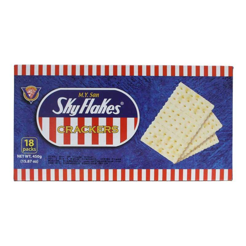 M.Y. SAN SKY FLAKES CRACKERS 450 G