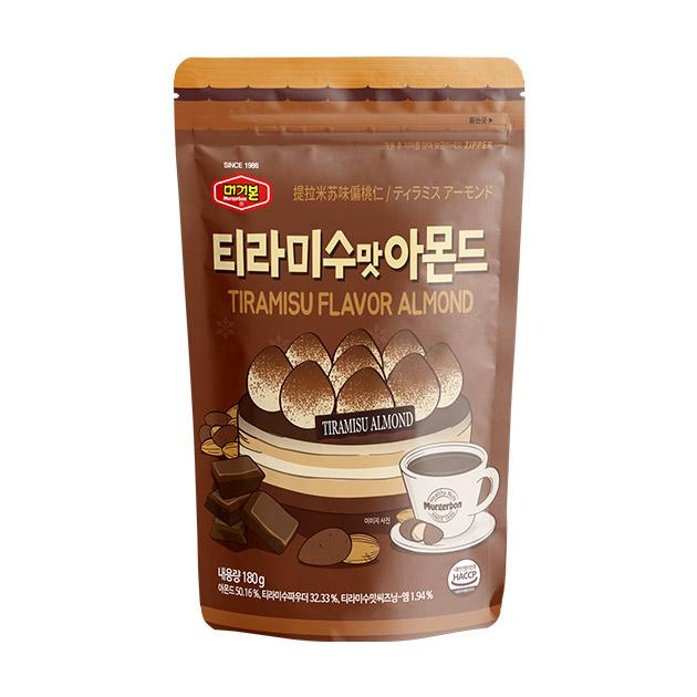 Murgerbon Roasted Almonds Tiramisu Flavor 180g