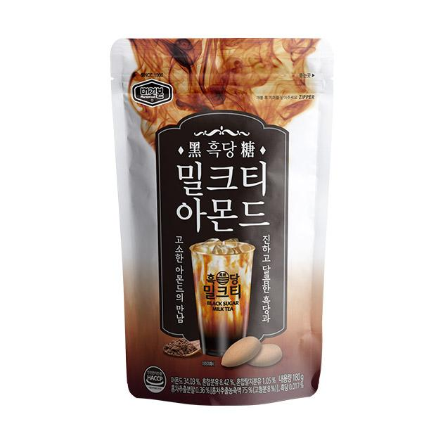 Murgerbon Roasted Almonds Black Sugar Milk Tea Flavor 180g