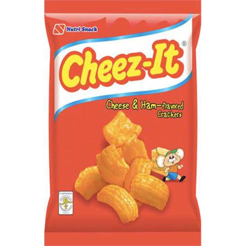 NUTRI SNACK CHEEZ-IT HAM & CHEESE CRACKER 95 G