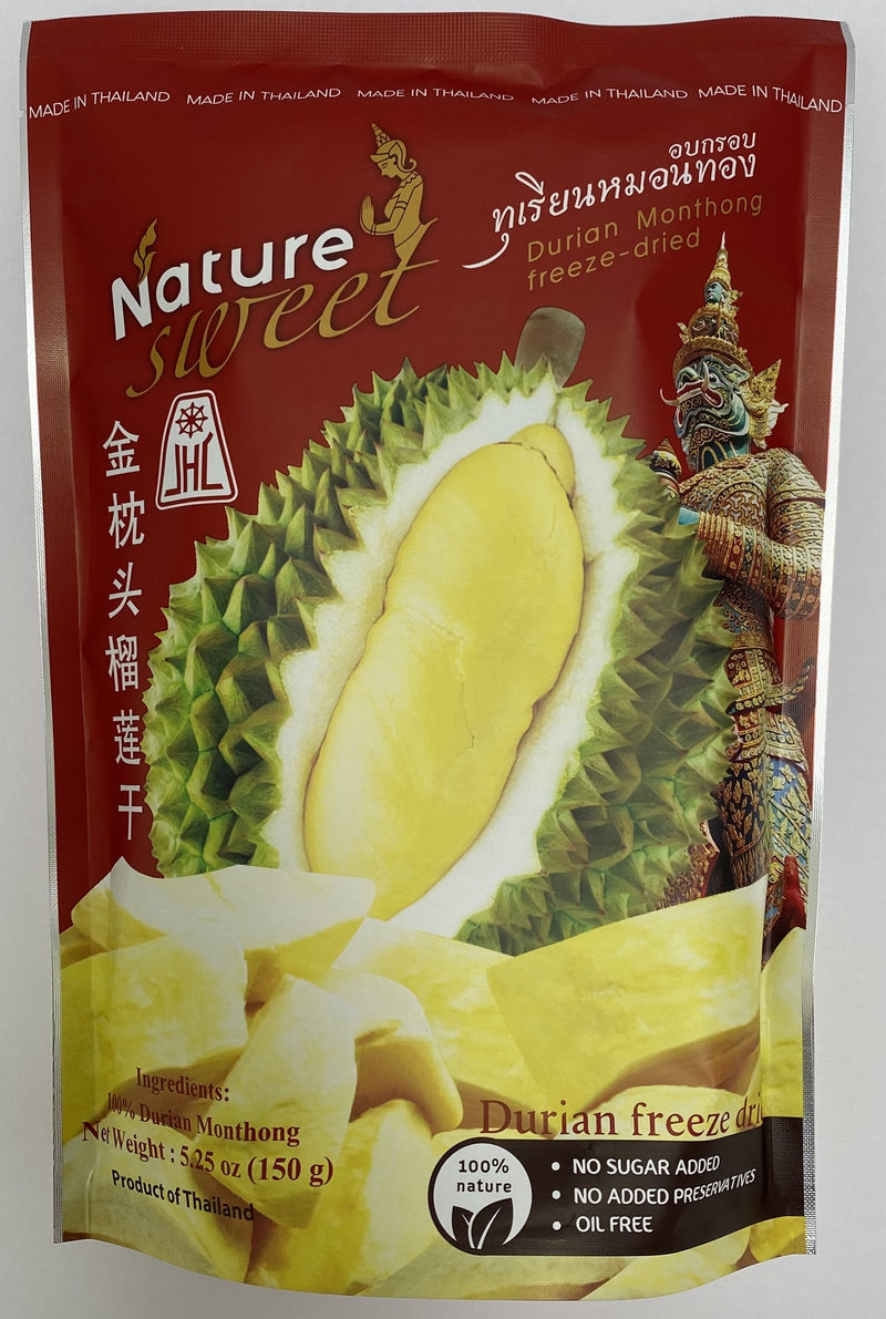 Nature Sweet Freeze Dried Durian 5.25oz