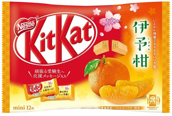 Nestle Kit Kat Mini Iyokan Orange 12pc