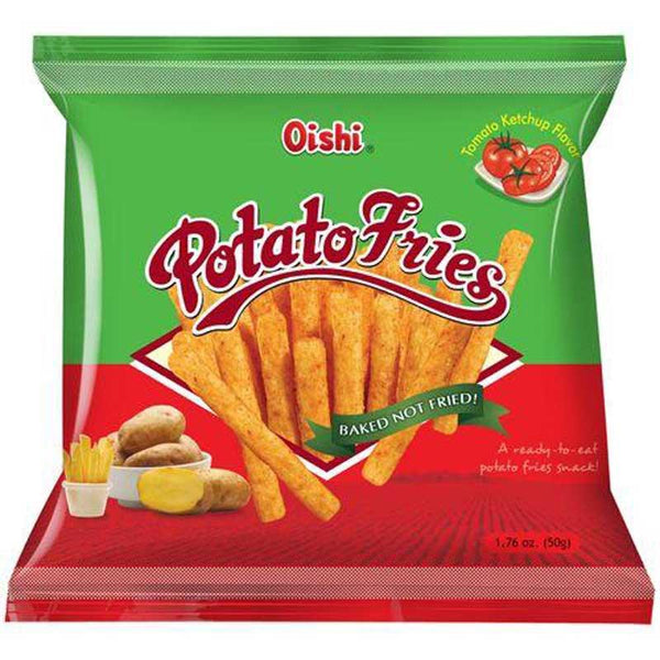 OISHI POTATO FRIES KETCHUP 1.76 OZ