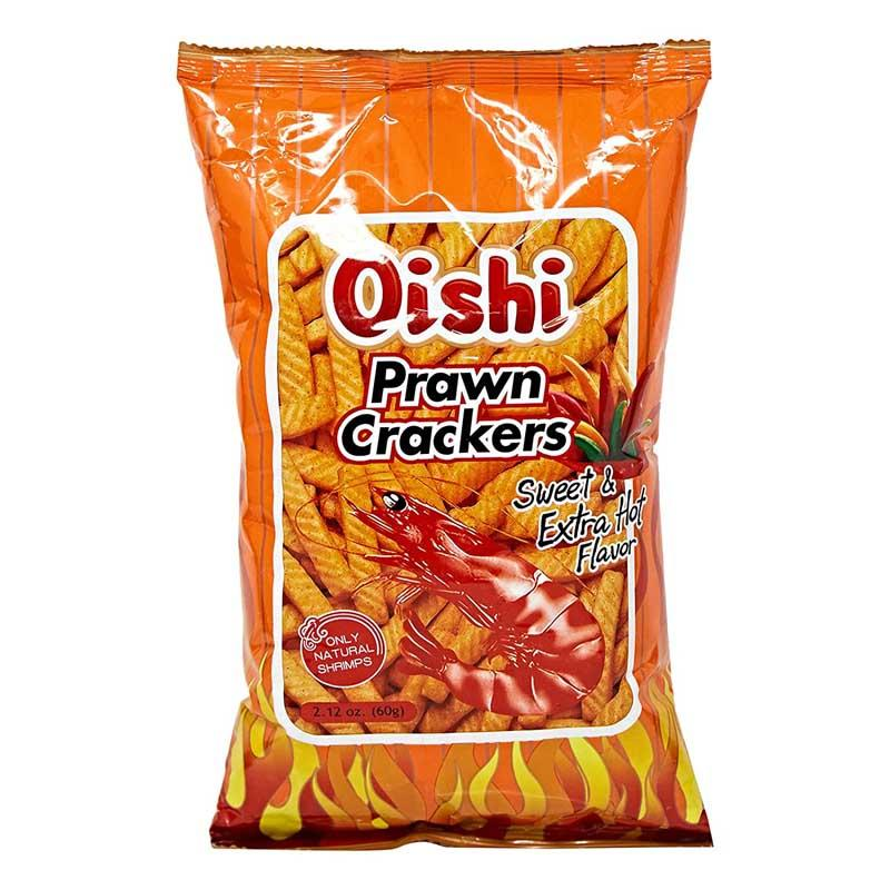 OISHI PRAWN CRACKER SPICY (S) 2.12 OZ