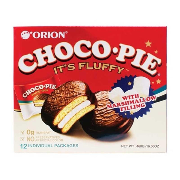ORION CHOCO PIE 16.5 OZ