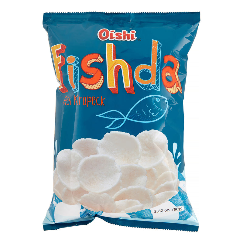 OISHI FISHDA FISH KROPECK CRACKERS 2.82 OZ