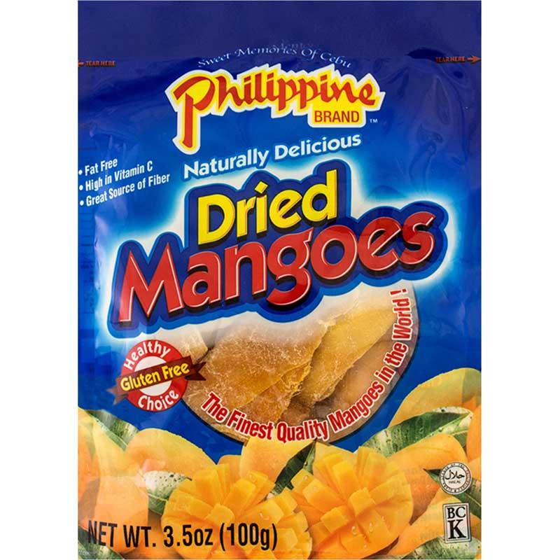 PHIL DRIED MANGOES 3.5 OZ