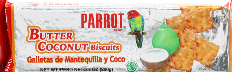 PARROT BUTTER COCONUT BISCUIT 7 OZ