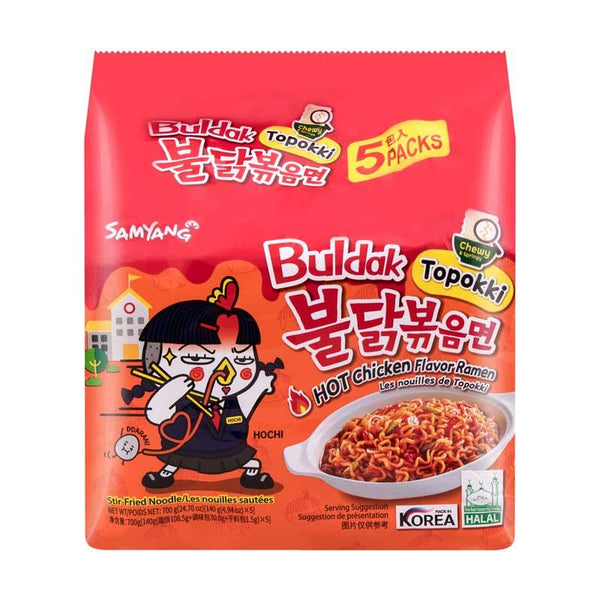 SAMYANG HOT CHICKEN RAMEN TOPOKKI 5/4.94 OZ