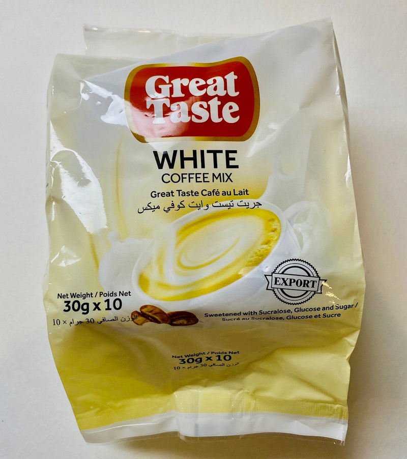 Great Taste Coffee Mix White 30g x 10 pack