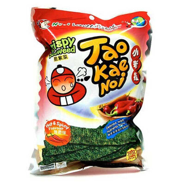 TAO KAE NOI CRISPY SEAWEED HOT & SPICY 1.27 OZ