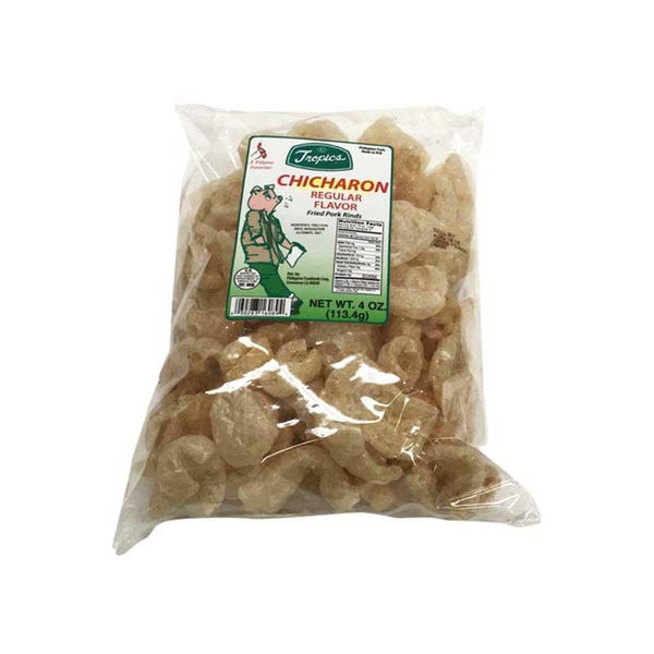TROPICS CHICHARON REGULAR 4 OZ