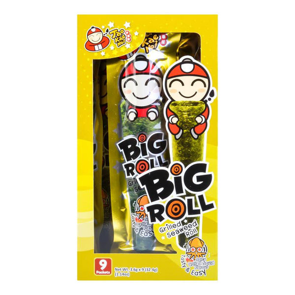 Tao Kae Noi Big Roll Grilled Seaweed Spicy Squid Flavor 9pc