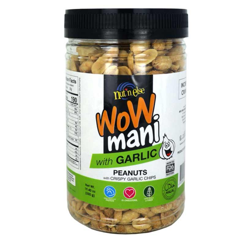 WOW MANI WITH GARLIC 19.4 OZ