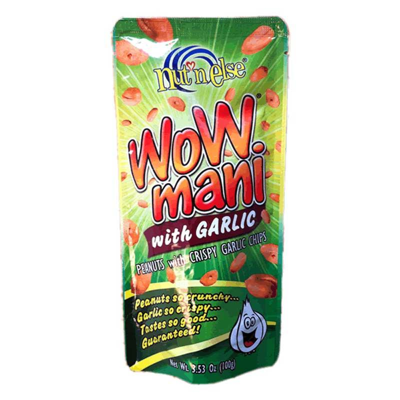 WOW MANI WITH GARLIC 3.53 OZ