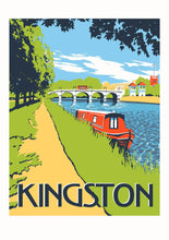Load image into Gallery viewer, Kingston Bridge Art Print