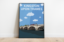 Load image into Gallery viewer, Kingston upon Thames Bridge Art Print