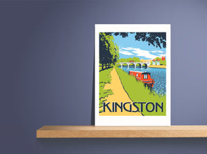 Kingston Bridge Art Print