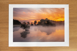 Middle Earth Richmond Park Print