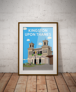 Kingston Ancient Market Square Art Print