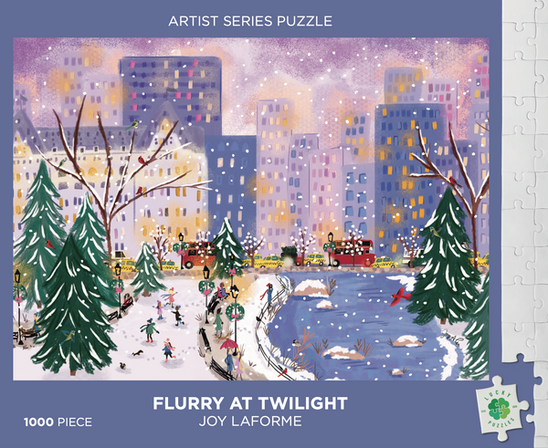 Flurry at Twilight by Joy Laforme