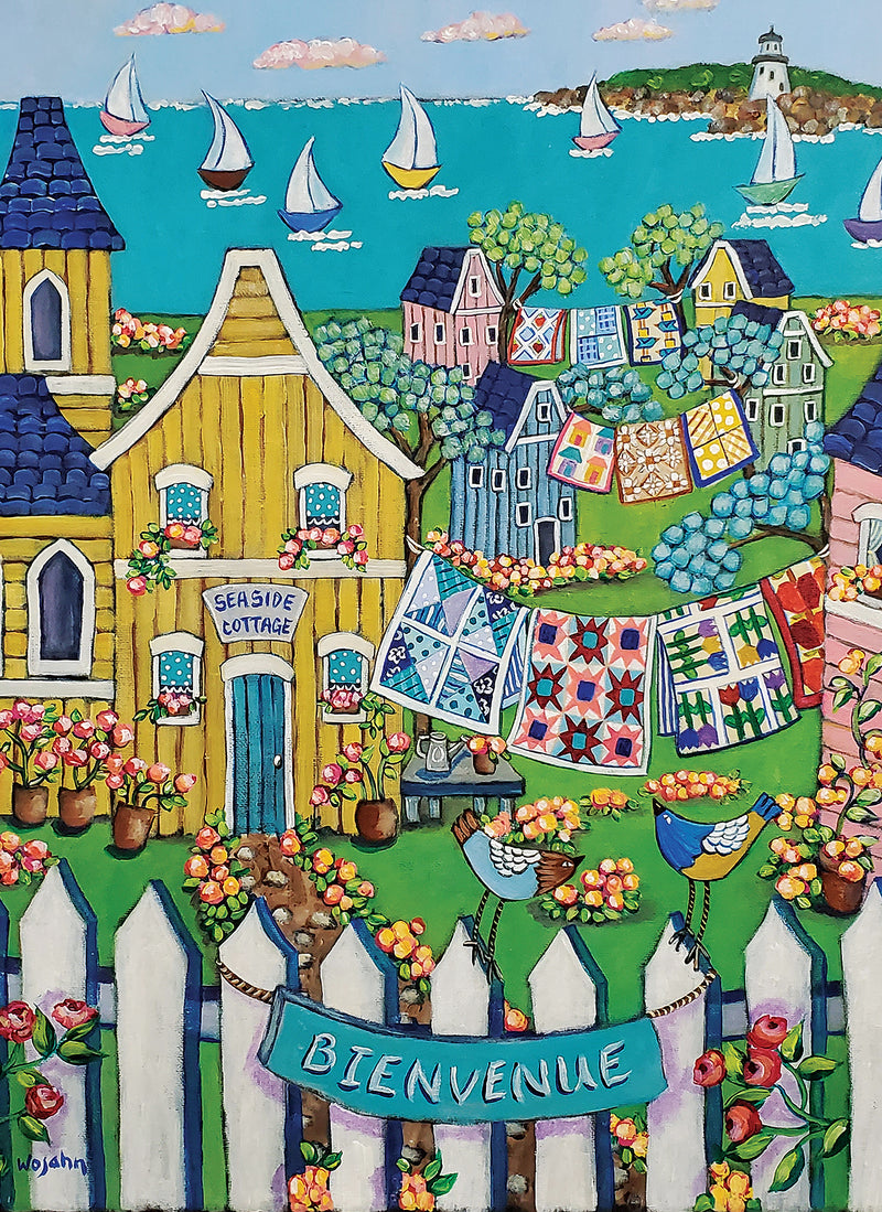 Seaside Cottage & Quilts by Holly Wojahn