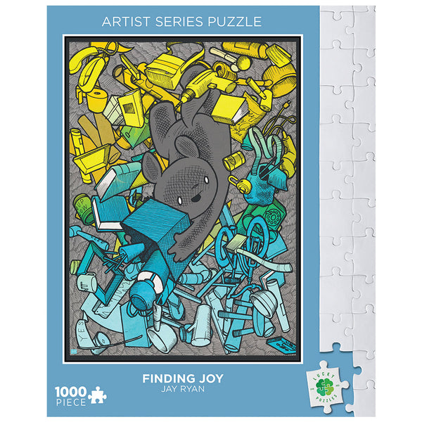Finding Joy by Jay Ryan Lucky Puzzles 1000 Piece Jigsaw Puzzle