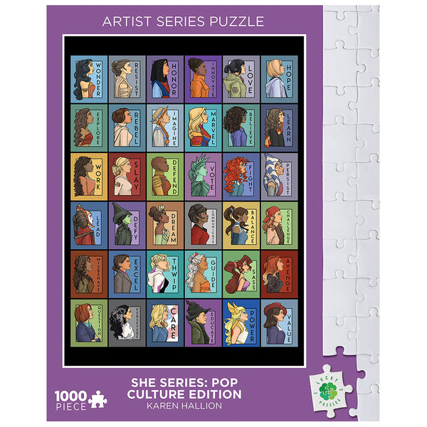 She Series by Karen Hallion Lucky Puzzles 1000 Piece Jigsaw Puzzle