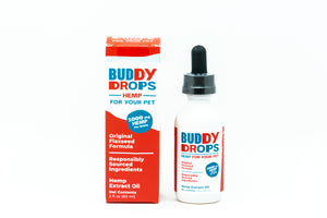 Buddy Organic Hemp Drops