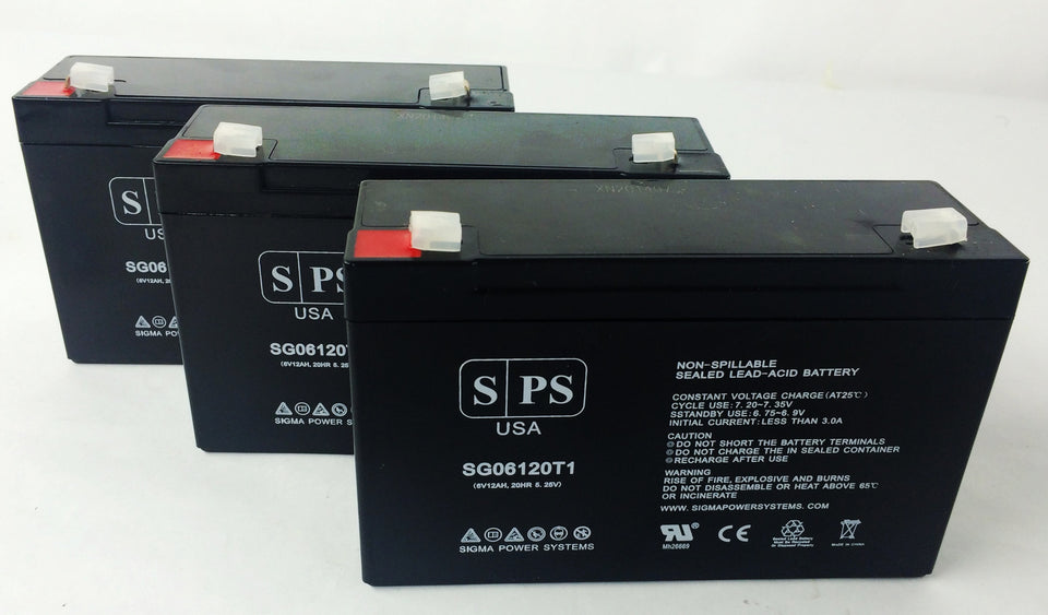 LightAlarms X78 Compatible Replacement Battery