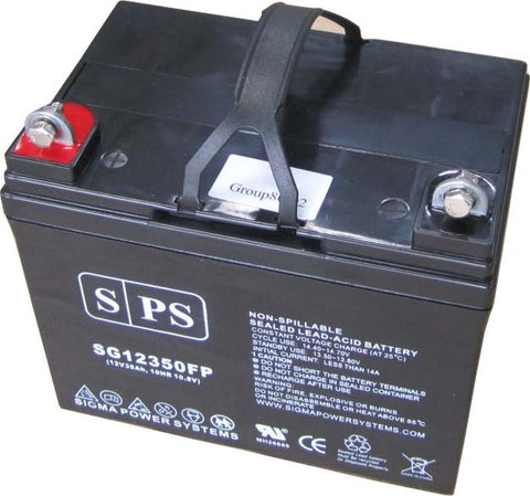 12V 35Ah rechargeable SLA battery with FP terinals