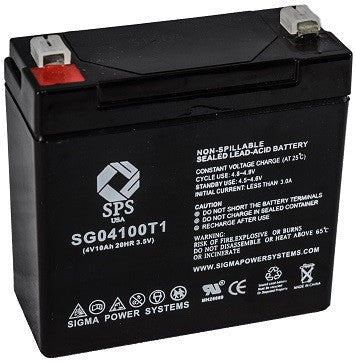 Dyna Ray DR552 emergency light battery