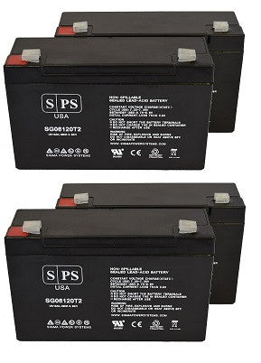 APC Smart Dell Smart 1500VA USB RM DLA1500RM2U battery set