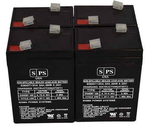Mighty Max Battery 12V 22AH Gel Compatible for APC UPS Computer Back Up Power 4 Pack Brand Product