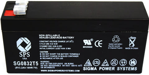 Powersonic PS-832 Medical light battery