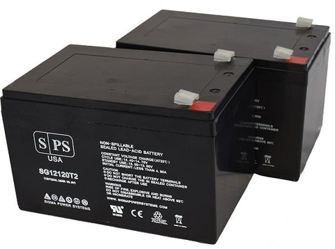 APC Smart 1000 SU1000 UPS Battery Set 12V 12Ah