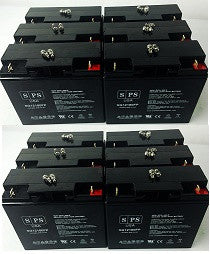 Alpha Technologies cfr 7.5k  UPS Battery set