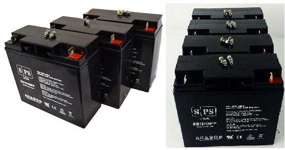 SPS Brand 12V 2.3Ah Camcorder Replacement Battery for General Electric 5440 Video Camera 2 Pack