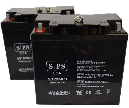 Sigmas SP12-55 Group 22NF Wheelchair Battery set