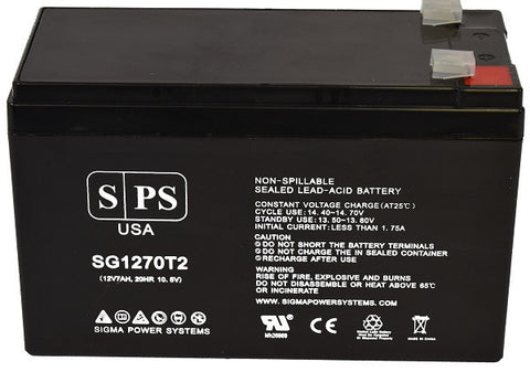 APC back ups backups 300 BK300C battery 12v 7ah