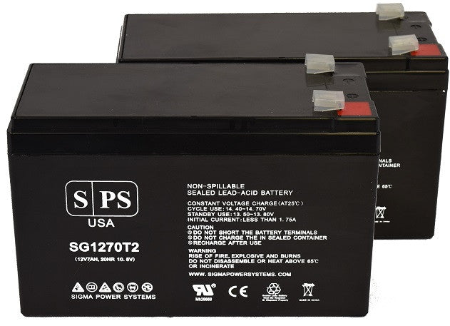This is an AJC Brand Replacement APC Back-UPS 1200VA BR1200 12V 7Ah UPS Battery