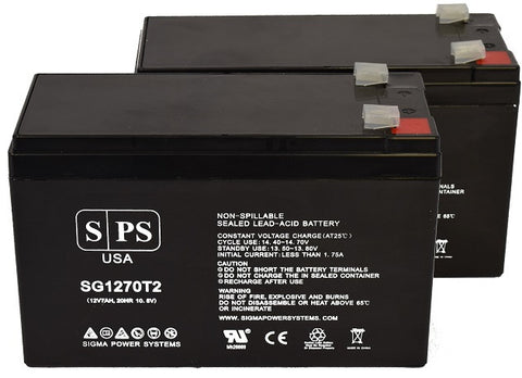 Alpha Technologies pinnacle plus 3000t  UPS battery 12v 7ah Set