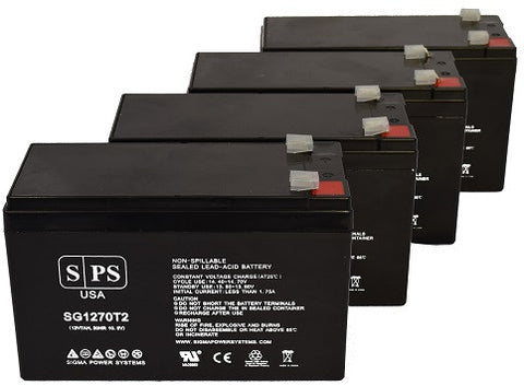 Alpha Technologies nexsys 1250  UPS Battery Set