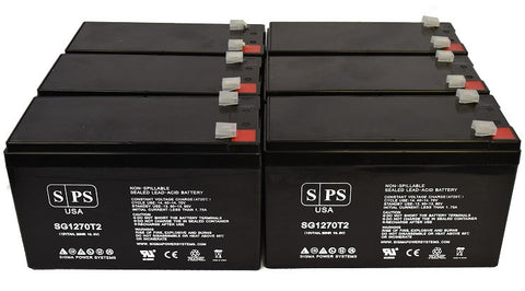 Alpha Technologies pinnacle plus 2000t  UPS Battery Set 12V 7Ah